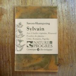 Savon-shampoing Sylvain karité argan raisin ricin ortie romarin paprika